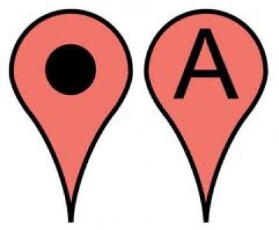 Google Maps Pointer Icon